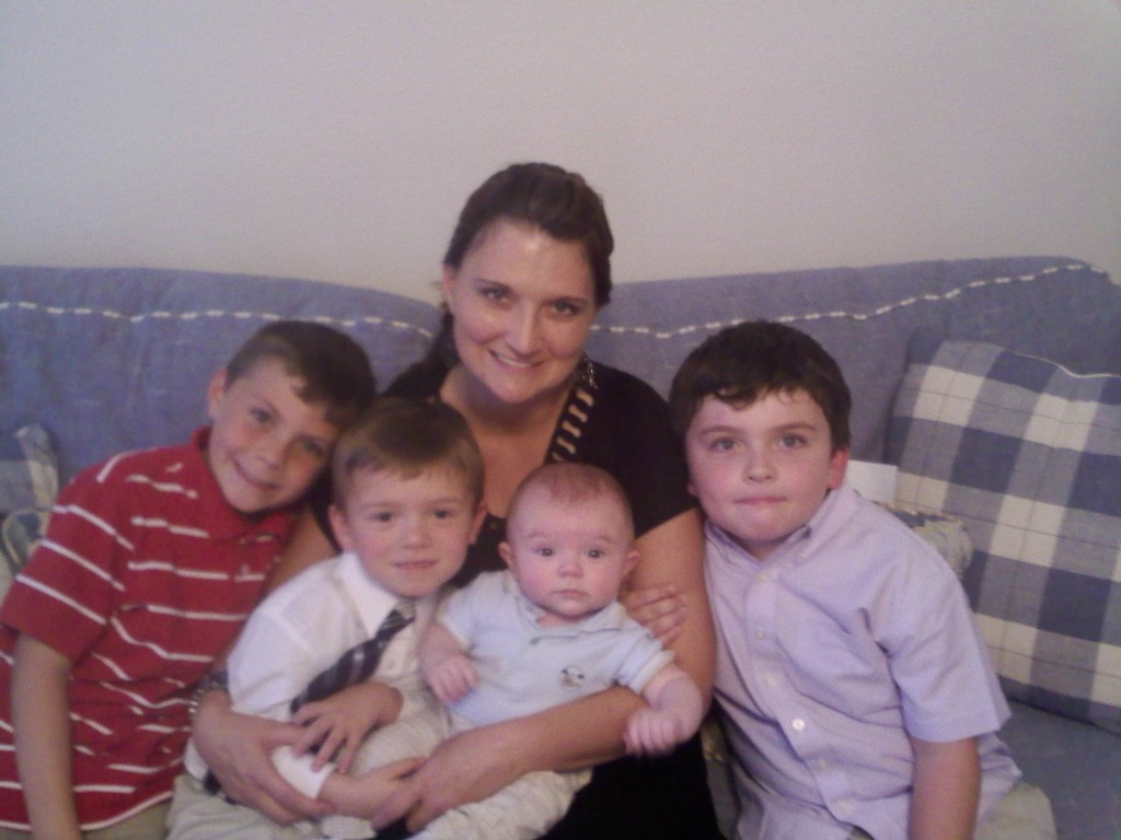 Mama and My Boys