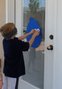 Pin the Beak on the Angry Bird. Perfect for Angry Birds birthday party. www.thejoysofboys.com