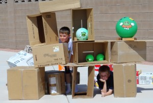 Life Sized Angry Birds Game