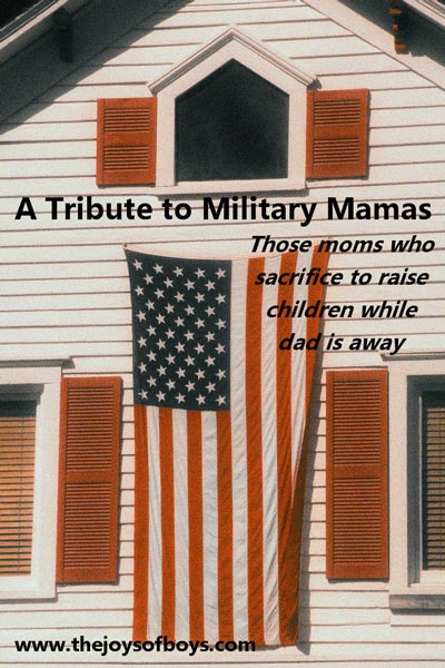 A tribute to Military mamas
