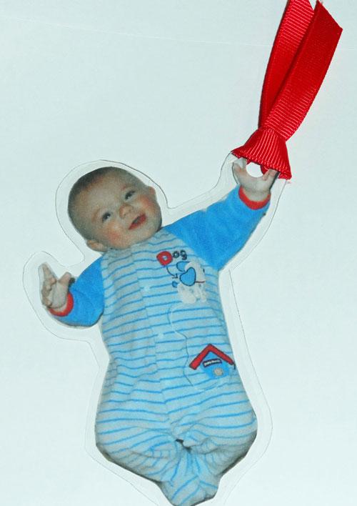 Baby-Bookmark