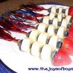 Fruit Rocket - 4th of July recipe
