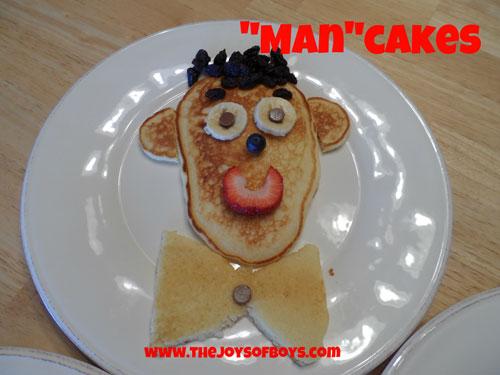 Man cakes
