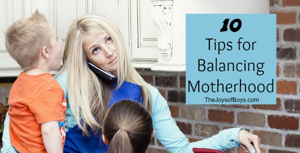 Balancing motherhood