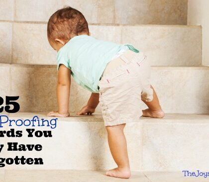 Baby Proofing Hazards