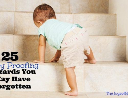 25 Baby Proofing Hazards You May Have Forgotten