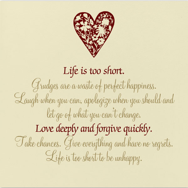 Life Too Short Quotes  Quotes About Life