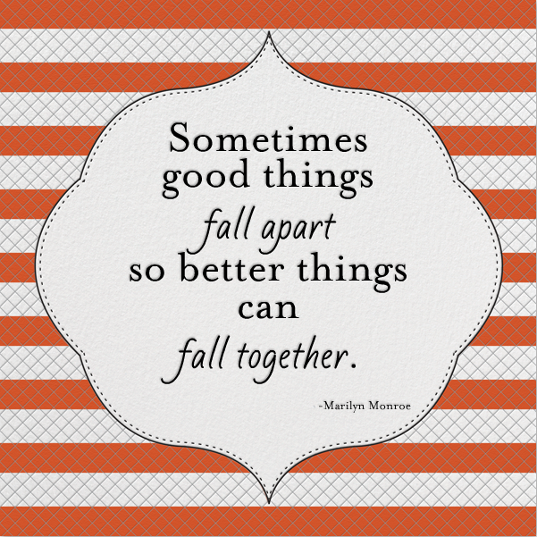 Monday Motivation: Better Things To Come