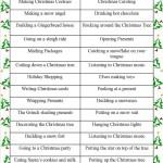 Christmas game: Charades