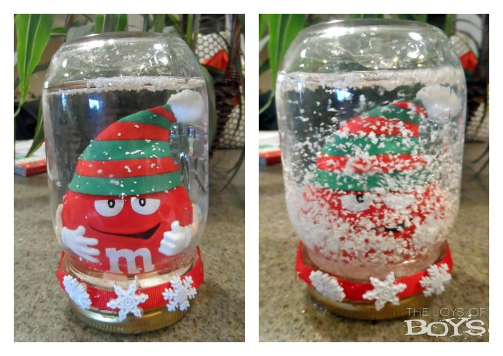 How To Make A Christmas Snow Globe