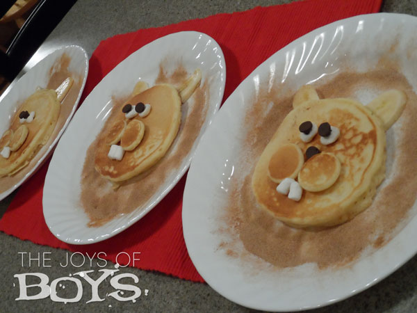 Ground hog Day Pancakes
