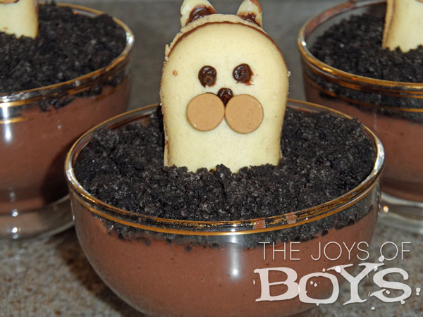Groundhog day recipes: Pudding cups