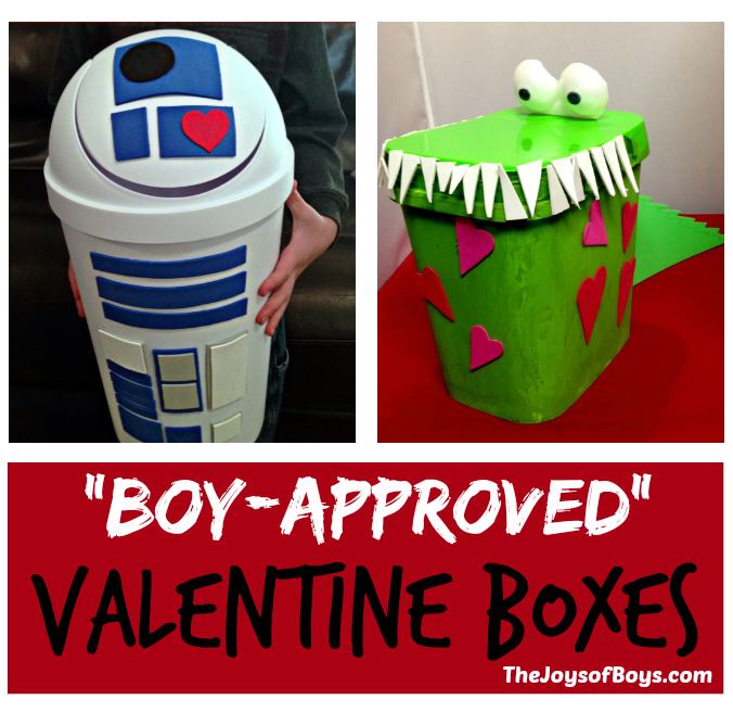 Valentine Boxes Valentineu0027s Day ...  sc 1 st  The Joys of Boys & R2D2 Valentine Box - Perfect Valentine Box for Kids Aboutintivar.Com