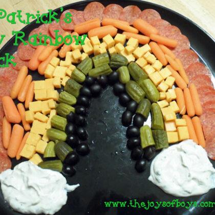 Rainbow Snack Tray