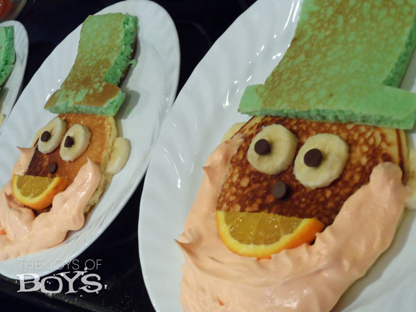 Fun Food: Leprechaun pancakes
