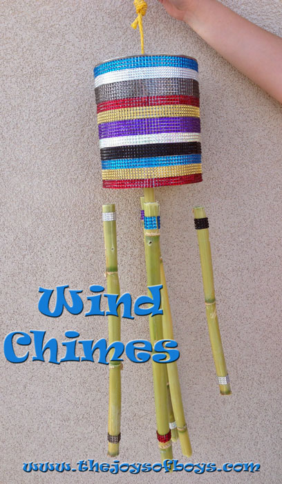 Easy wind chimes the joys of boys for Easy wind chimes