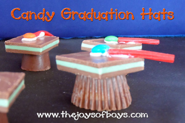 Candy Graduation Hats