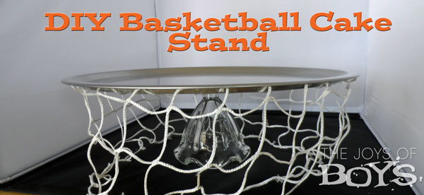 Basketball DIY Cake Stand The Joys of Boys