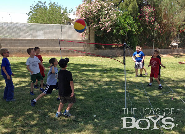 Sports Birthday Party Beach ball Volleyball