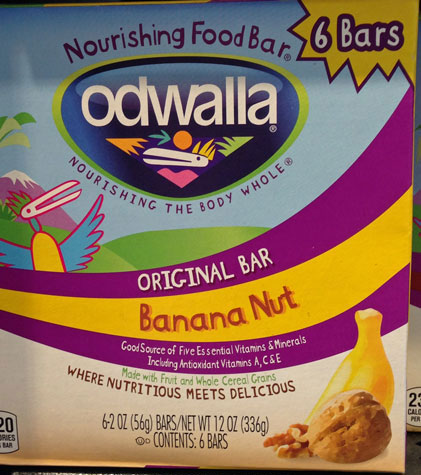 Odwalla snack bars