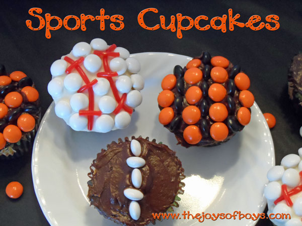 Sports Cupcakes