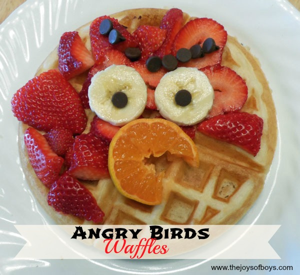 Angry Birds Waffles