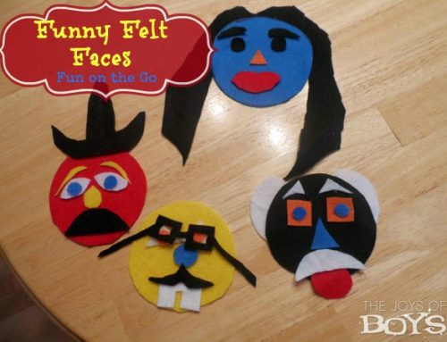 Fun Felt Faces with Fiskars Craft Tools