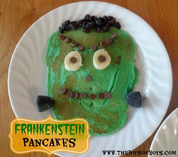 Frankenstein Pancakes