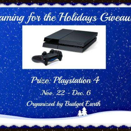 Playstation 4 Giveaway