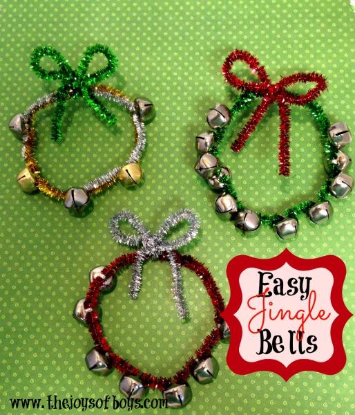 Homemade Christmas Ornaments Jingle Bells: Easy Jingle Bells Craft