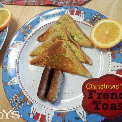 Christmas Tree French Toast
