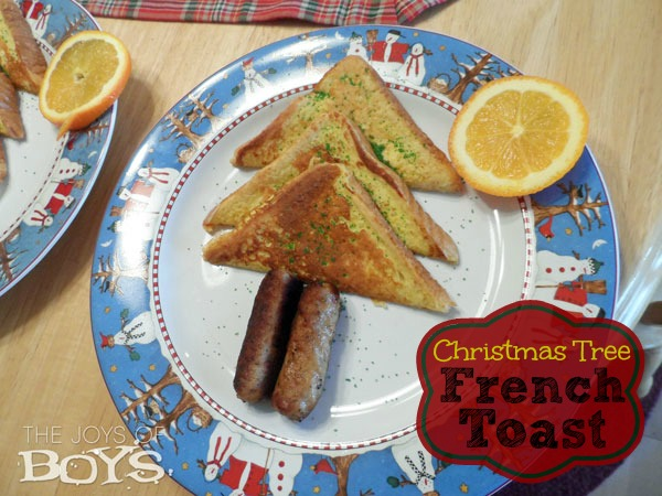 Christmas Tree French Toast