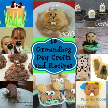 Groundhog Day Crafts and Recipes