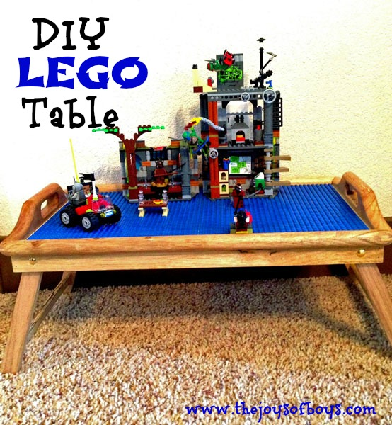 DIY LEGO Table Create Your Own In 3 Easy Steps