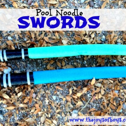 Pool Noodle Swords