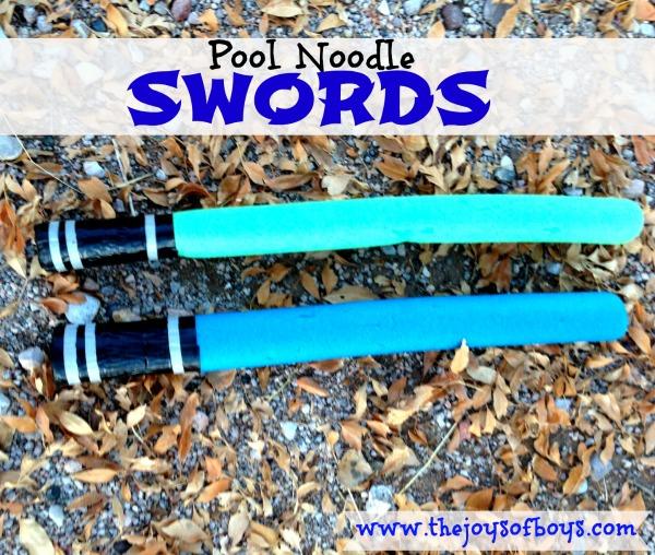 Pool Noodle Swords