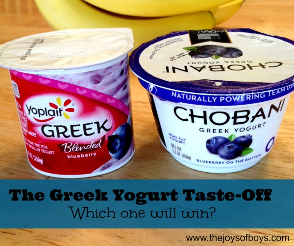 Yoplait Greek Taste-off - This article is sponsored by Yoplait