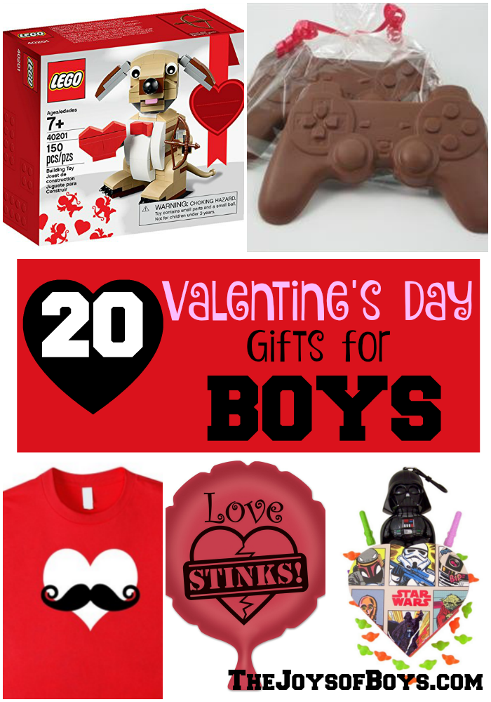 20 Valentine 39 S Day Gifts For Boys The Joys Of Boys
