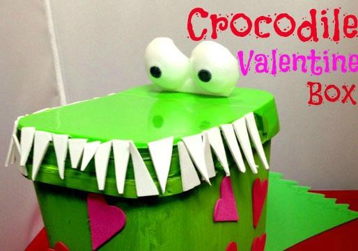 crocodile valentine box the joys of boys