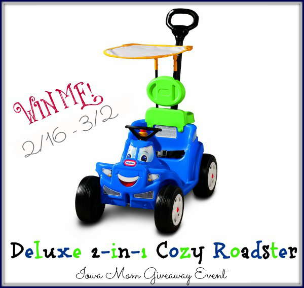 Deluxe 2-in-1 Cozy Roadster Giveaway 2