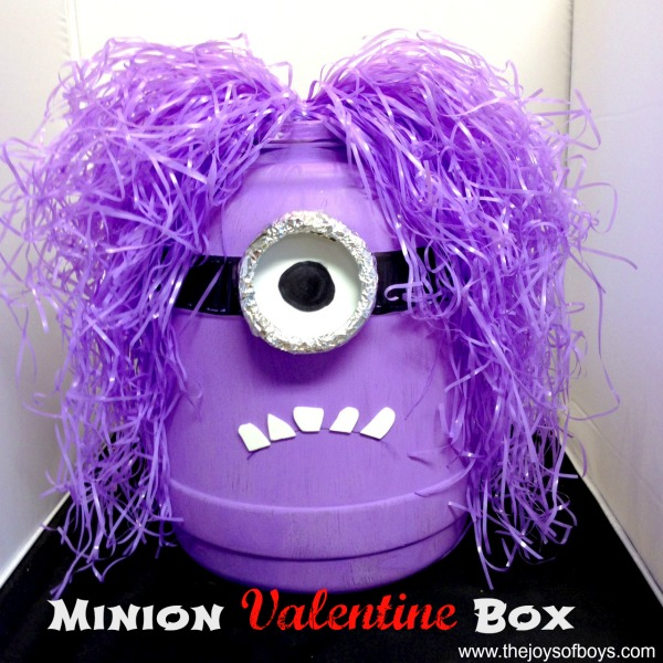 minion valentine box - Valentines Day Boxes For Boys