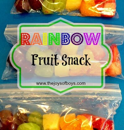 Rainbow Fruit Snack