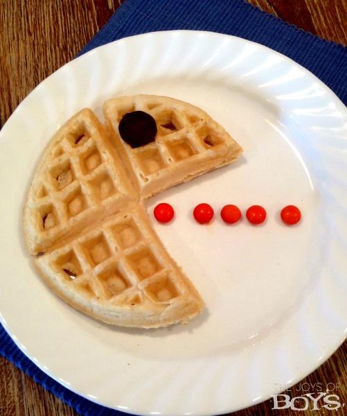 pacman waffles