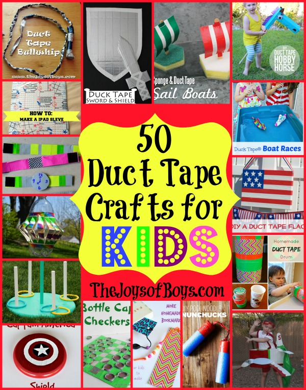 duct tape craft ideas for kids