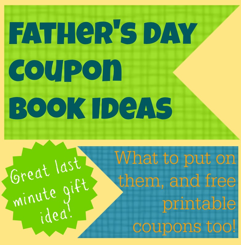 Father's Day coupon ideas