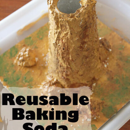 Reusable Baking Soda Volcano