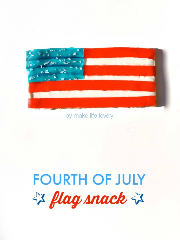 4th of July snack