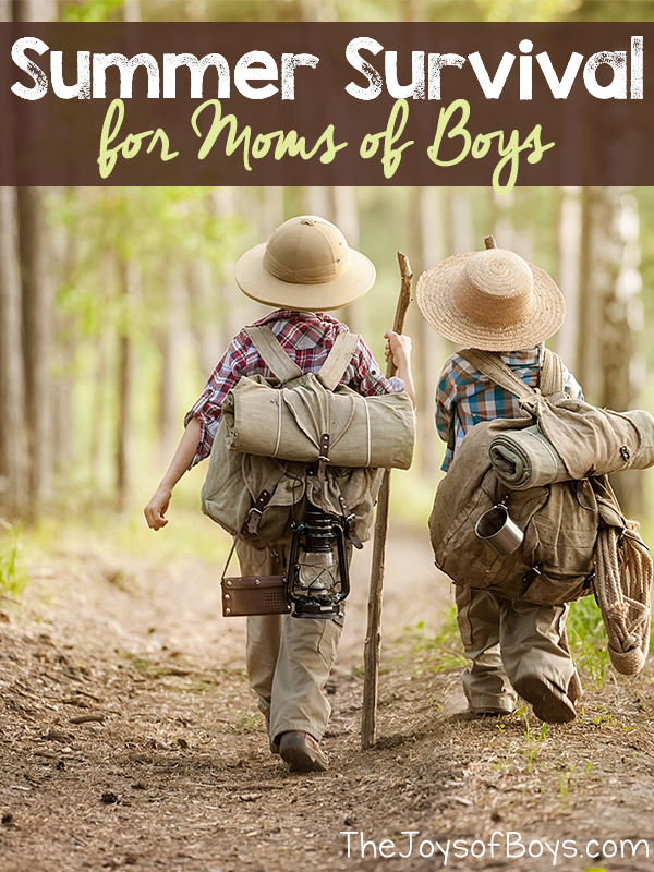 Summer Survival for Moms of Boys