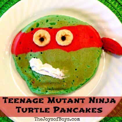 Teenage Mutant Ninja Turtles pancakes