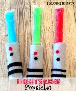 lightsaber popsicles